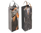 Gift bag man/woman - size for a wine bottle