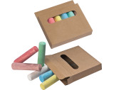Chalks in box