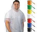 Poncho de pluie dans un boîte en plastique