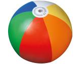 Ballon de plage multicolore