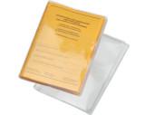 Couverture transparente en PVC